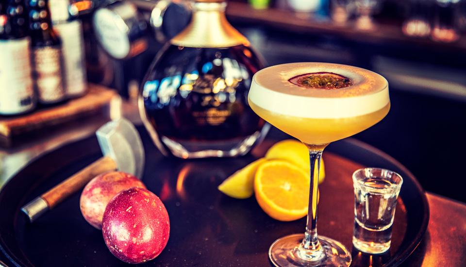 Cocktail fruit de la passion à Toulon au Mourillon