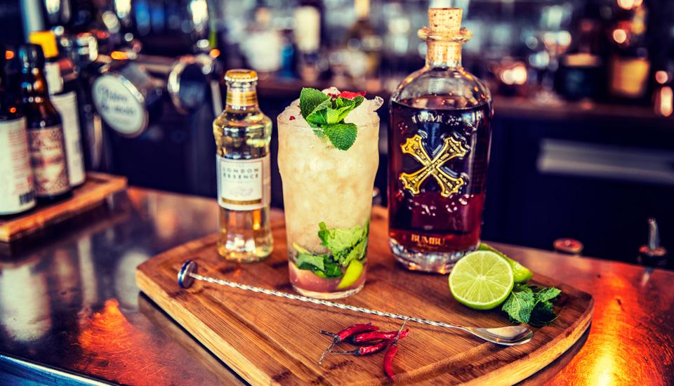 Cocktails classiques ou originaux au Churchill restaurant à Toulon au Mourillon