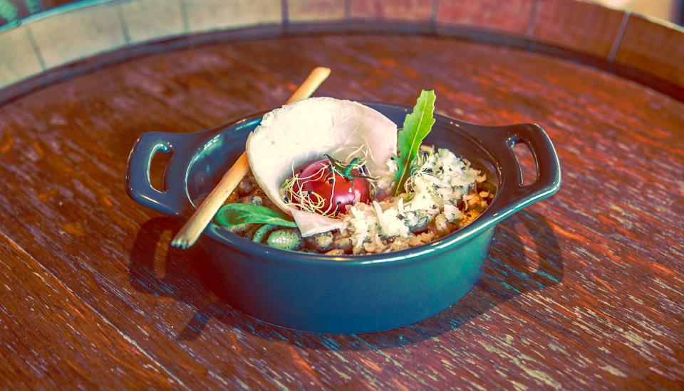 Restaurant vue mer avec plats végétarien à toulon au Mourillon